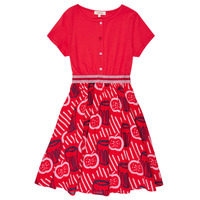 textil Pige Korte kjoler Catimini MANOA Rød