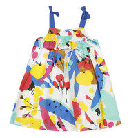 textil Pige Korte kjoler Catimini THEO Hvid