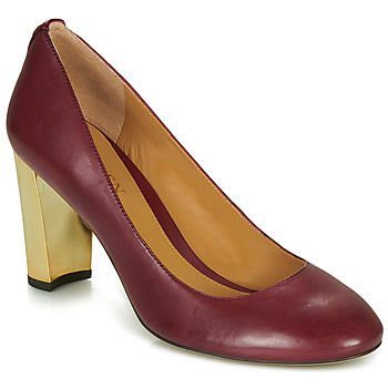 Sko Dame Højhælede sko Lauren Ralph Lauren 802688958-004 Bordeaux