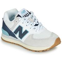 Sko Lave sneakers New Balance GC574SOU Hvid / Blå