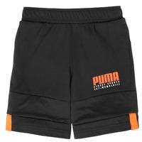 textil Dreng Shorts Puma ALPHA JERSEY SHORT Sort