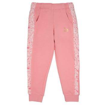 textil Pige Træningsbukser Puma MONSTER SWEAT PANT GIRL Pink