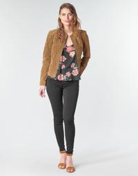 textil Dame Lærredsbukser Vila VICOMMIT Sort