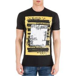 textil Herre T-shirts m. korte ærmer Dsquared S71GD0741 Sort