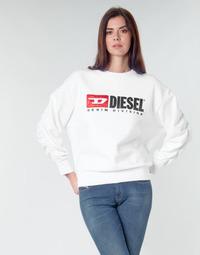 textil Dame Sweatshirts Diesel F-ARAP Hvid