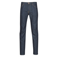 textil Herre Smalle jeans Lee RIDER SLIM Blå