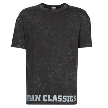 textil Herre T-shirts m. korte ærmer Urban Classics TOBI Sort