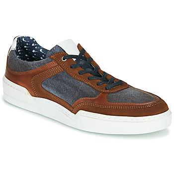 Sko Herre Lave sneakers Casual Attitude MELISSI Cognac