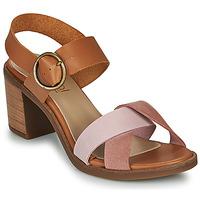 Sko Dame Sandaler Casual Attitude MEL Kamel / Pink