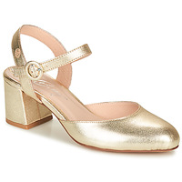 Sko Dame Højhælede sko Betty London MALINE Guld