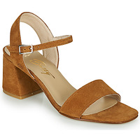 Sko Dame Sandaler Betty London MAKITA Cognac