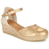 Sko Dame Sandaler Betty London INONO Guld