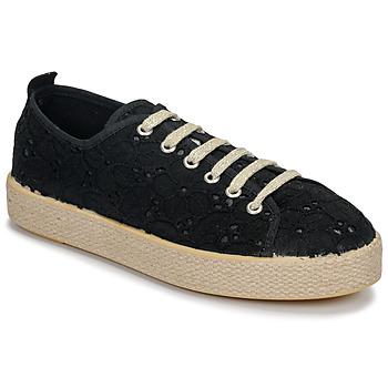 Sko Dame Lave sneakers Betty London MARISSOU Sort
