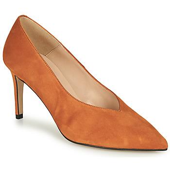 Sko Dame Højhælede sko Betty London MINATTE Cognac