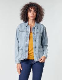 textil Dame Jakker / Blazere Noisy May NMMELODIE Blå / Lys