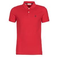 textil Herre Polo-t-shirts m. korte ærmer Selected SLHARO Rød