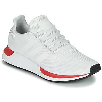 Sko Herre Lave sneakers adidas Originals SWIFT RUN Hvid / Rød