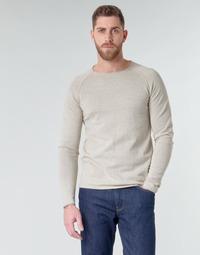 textil Herre Pullovere Jack & Jones JJEUNION Beige