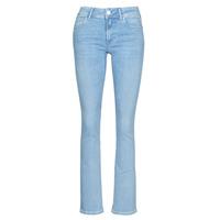 textil Dame Bootcut jeans Replay LUZ BOOTCUT Blå / Medium