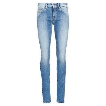 textil Dame Jeans - skinny Replay LUZ Blå / Medium