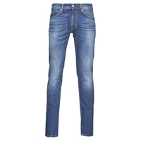 textil Herre Jeans - skinny Replay JONDRIL Blå / Medium