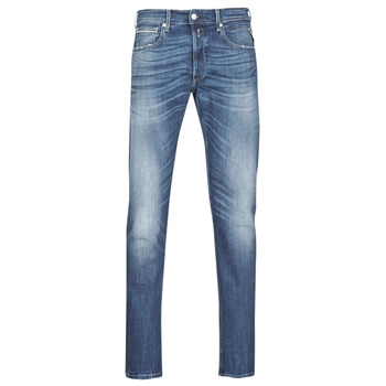 textil Herre Lige jeans Replay GROVER Blå / Medium