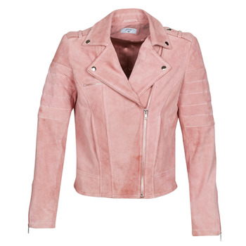 textil Dame Jakker i læder / imiteret læder Betty London MARILINE Pink