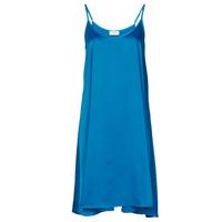 textil Dame Korte kjoler Moony Mood MOLETTE Blå