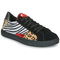 Sko Dame Lave sneakers Les Petites Bombes MOONWALK Sort