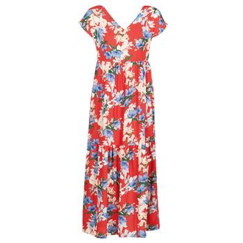 textil Dame Lange kjoler Betty London MALIN Rød / Hvid / Blå