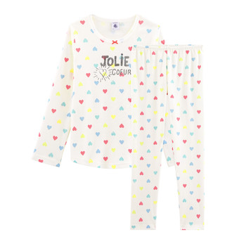 textil Pige Pyjamas / Natskjorte Petit Bateau FIONA Flerfarvet