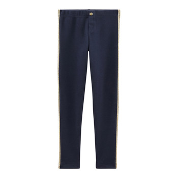 textil Pige Leggings Petit Bateau FORANE Blå