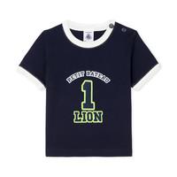 textil Dreng T-shirts m. korte ærmer Petit Bateau FUDGE Blå