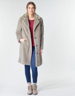 textil Dame Frakker Oakwood CYBER Muldvarpegrå