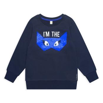 textil Pige Sweatshirts Esprit ELONA Marineblå