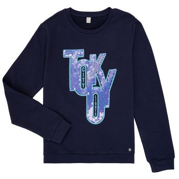 textil Pige Sweatshirts Esprit ERIN Marineblå