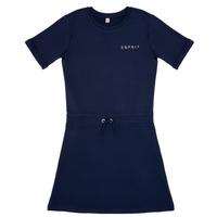 textil Pige Korte kjoler Esprit EDEN Marineblå