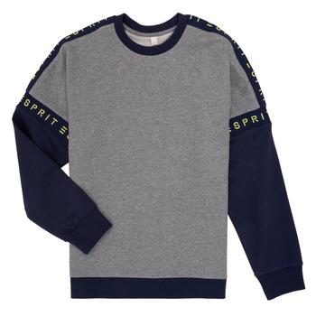 textil Pige Sweatshirts Esprit ELISEE Grå