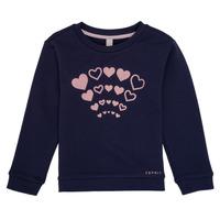 textil Pige Sweatshirts Esprit ESTER Marineblå