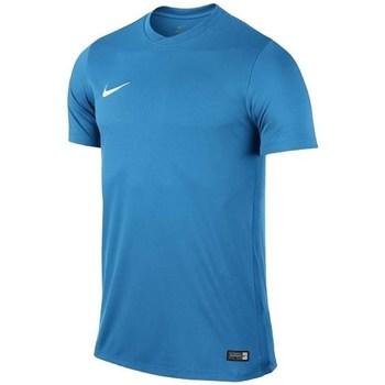 textil Dreng T-shirts m. korte ærmer Nike Park VI Blå