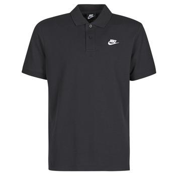 textil Herre Polo-t-shirts m. korte ærmer Nike M NSW CE POLO MATCHUP PQ Sort / Hvid