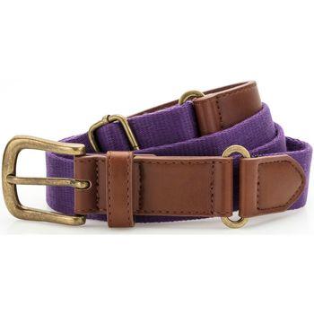 Accessories Herre Bælter Asquith & Fox AQ902 Purple