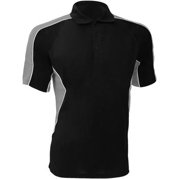 textil Herre Polo-t-shirts m. korte ærmer Gamegear KK938 Black/Grey