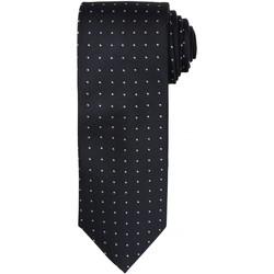 textil Herre Slips og accessories Premier Dot Pattern Black/Dark Grey