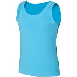 textil Børn Toppe / T-shirts uden ærmer Skinni Fit SM016 Surf Blue