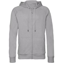 textil Herre Sweatshirts Russell J284M Silver Marl