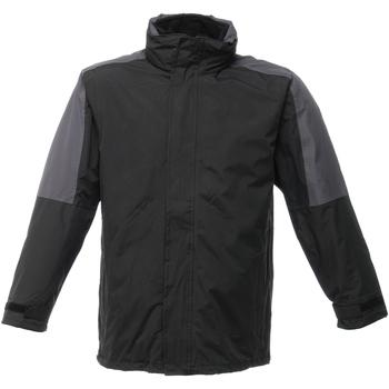 textil Herre Vindjakker Regatta Defender Black/Seal Grey