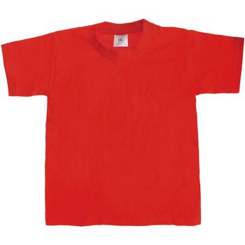 textil Børn T-shirts m. korte ærmer B And C Exact 190 Red
