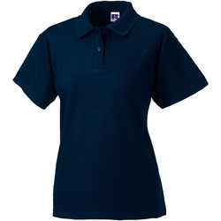 textil Dame Polo-t-shirts m. korte ærmer Jerzees Colours 539F French Navy