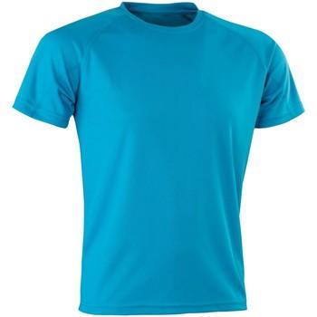 textil Herre T-shirts m. korte ærmer Spiro Aircool Ocean Blue